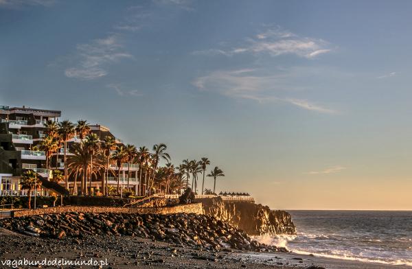 la palma zachód słońca w puerto naos