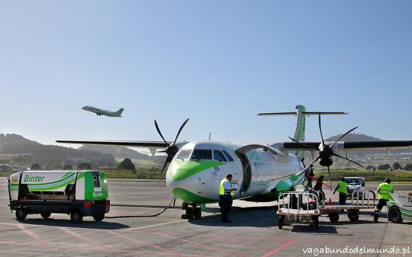 la palma samolot ATR