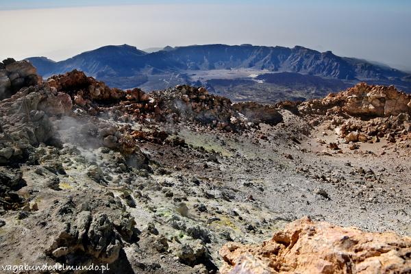teneryfa krater el teide