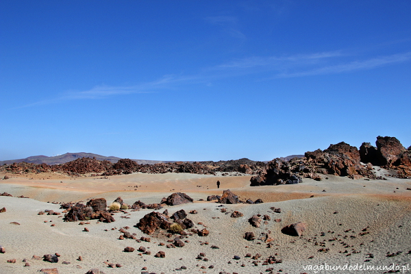 teneryfa el teide national park wulkaniczna pustynia