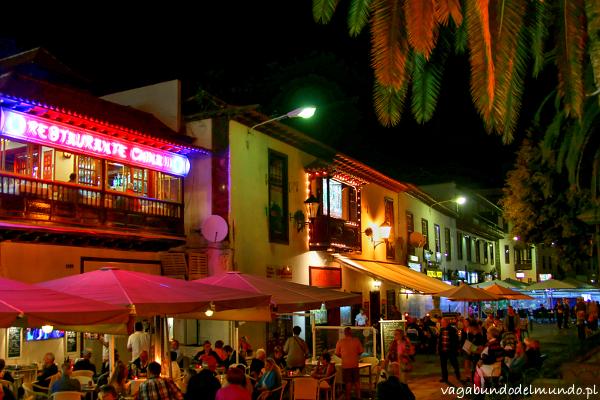 teneryfa kolorowe miasto puerto de la cruz