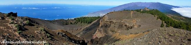 la palma wulkaniczny krajobraz
