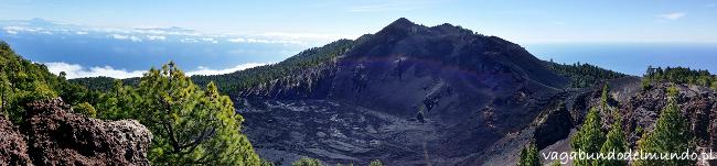 la palma krater hoyo negro