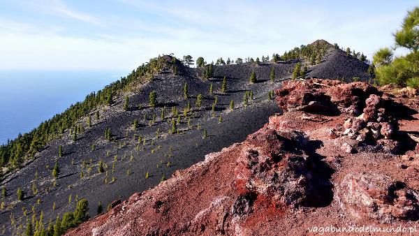 la palma kolory wulkanów