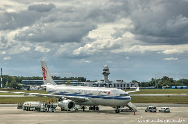 B737 Air China na Okęciu