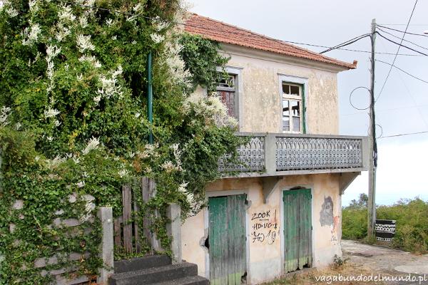 opuszczony dom w Camacha Madera