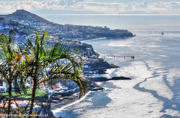 widok na wybrzeże cabo girao