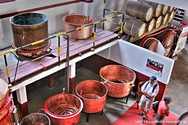 fabryka rumu porto da cruz madera