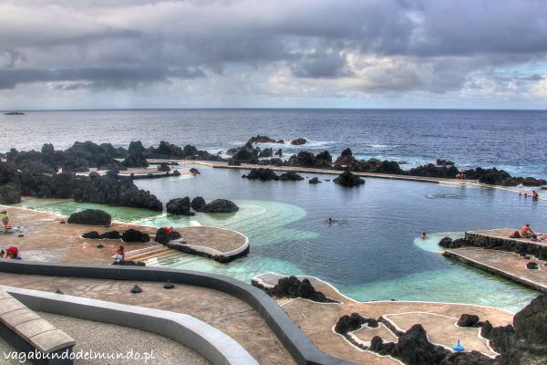 basen na zachodzie w porto moniz