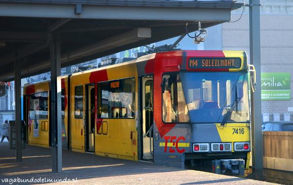 belgia tramwaj w charleroi
