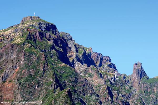 wulkaniczne góry madery