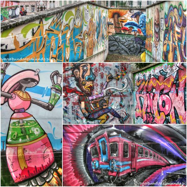 graffitti w thuin belgia